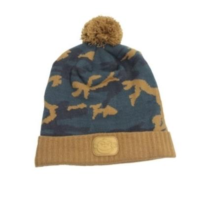 ridgemonkey camo bobble hat