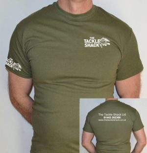 The Tackle Shack t-shirts