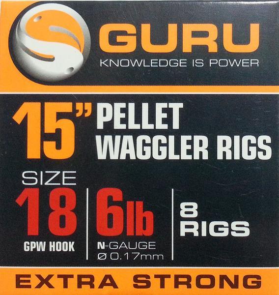 guru 15inch pellet waggler rigs