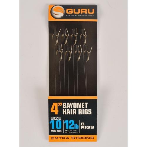 4 inch bayonet hair rigs