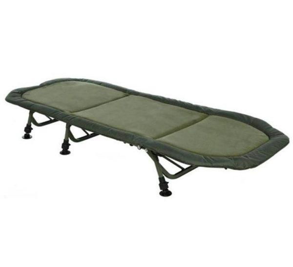 trakker rlx flat 6 compact bedchair