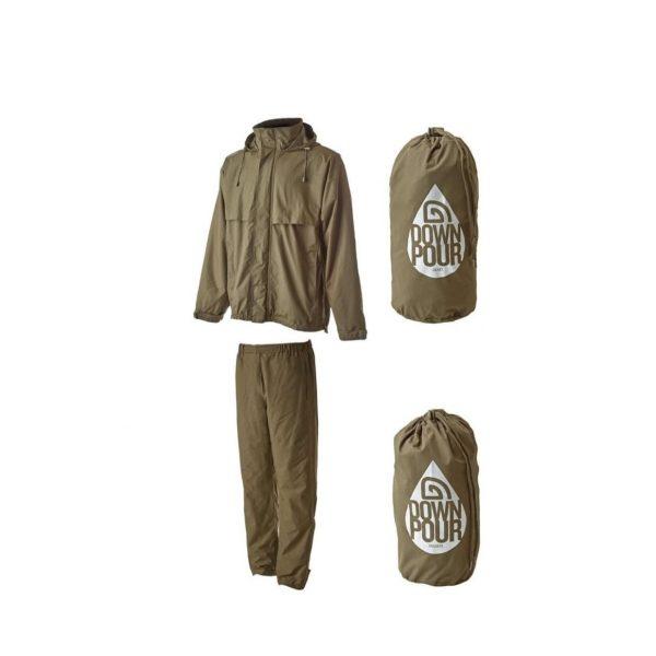 trakker downpour jacket & trouser