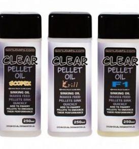 Sonubaits Clear Pellet Oil (Various Flavours)