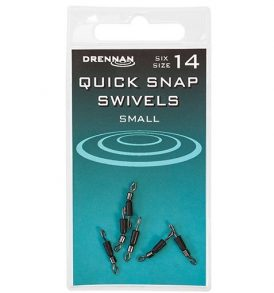 Drennan Quick Snap Swivels