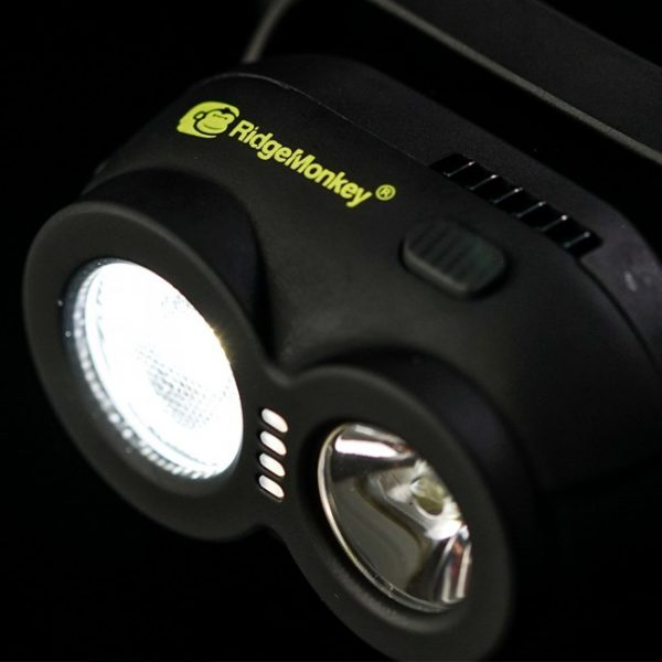 RidgeMonkey_VRH150_USB_Rechargeable_Headtorch