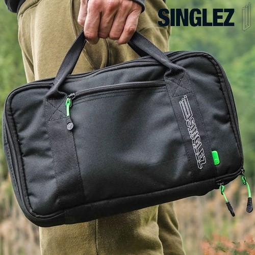 korda black singlez bag