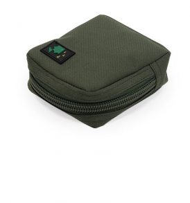 Thinking Anglers Olive Solid Zip Pouch